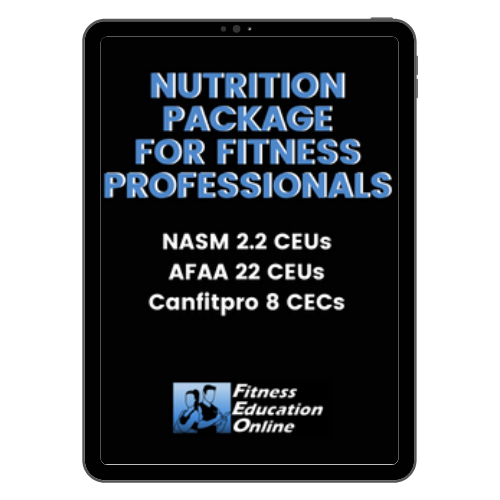 Nutrition Essentials for Fitness Professional