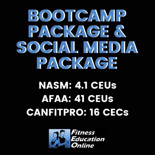 Bootcamp Package & Social Media Package