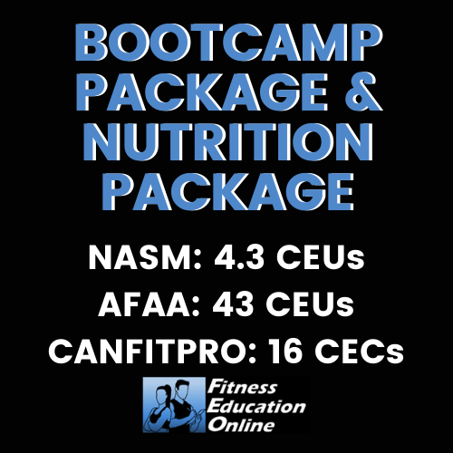 Bootcamp Package & Nutrition Package