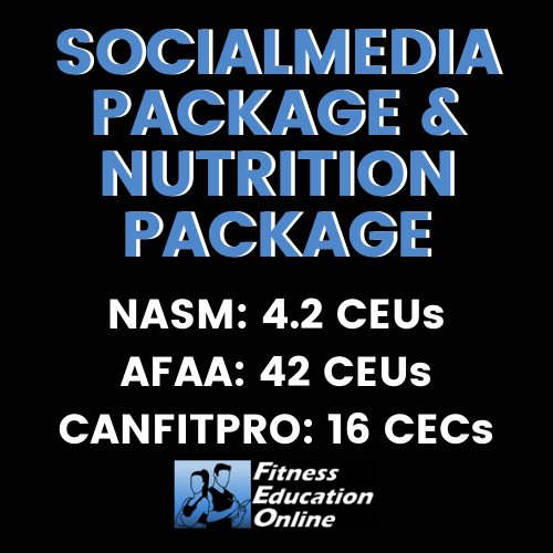 Social Media Package & Nutrition Package