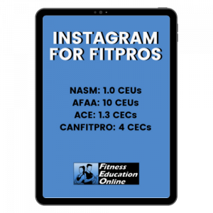 Instagram course for PTs