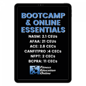 Online Training & Bootcamp CEC Course