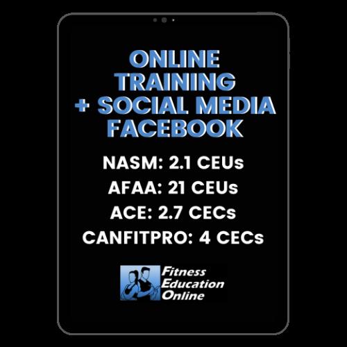 Online Training+ Social Media Facebook