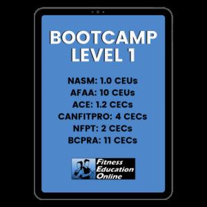 Bootcamp Level 1